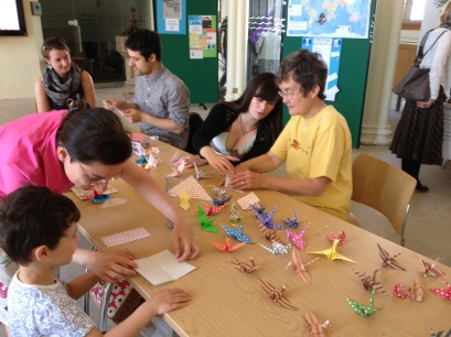 Paper Crane workshop
