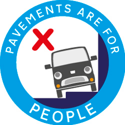 Pavements are for people logo