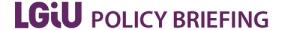 LGIU Policy Briefing logo