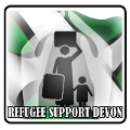 Refugee Support Devon logo