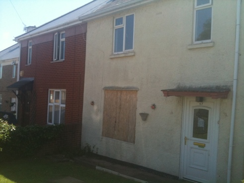 57 NEWMAN ROAD Boarded up [13 june 12]
