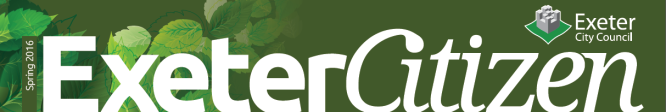Exeter Citizen Spring Logo