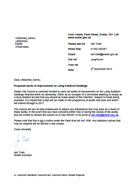 Final 10 planning applications for Laing Easiform properties