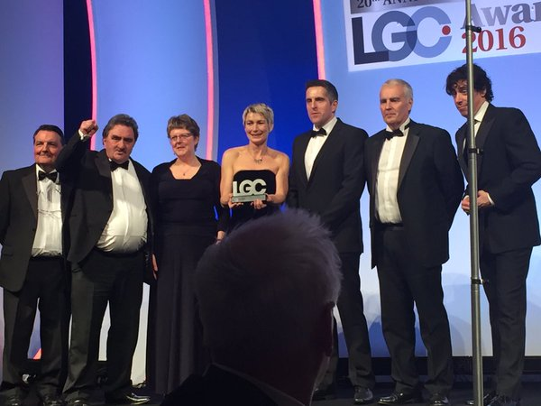 LGA Awards - Group shot