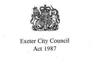 exeter-act-1987-cover