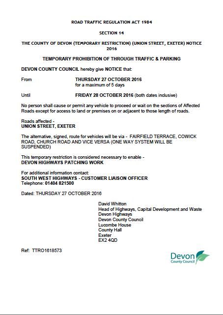temporary-traffic-notice-union-street-exeter-ttro1618573